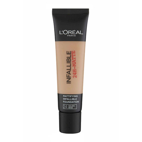 L'Oreal Infallible 24H-Matte Foundation 24 GOLDEN BEIGE