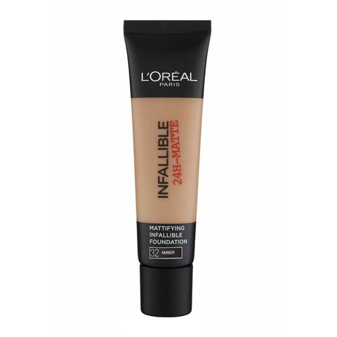 L'Oreal Infallible 24H-Matte Foundation 32 AMBER