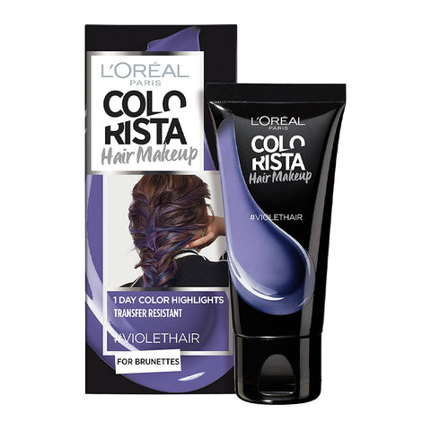 L'Oreal Colorista Hair Makeup 1 Day Colour Highlights #VIOLET HAIR