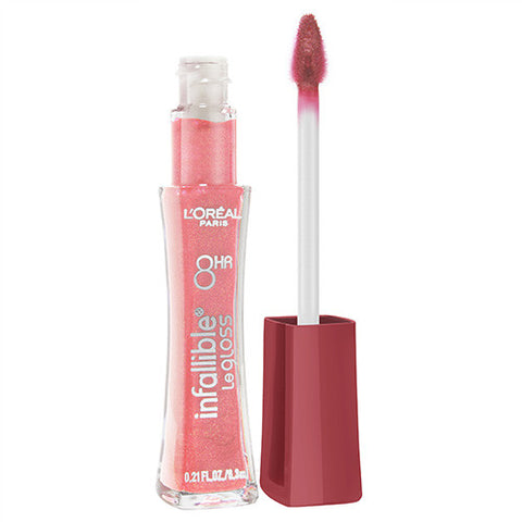 L'Oreal Infallible Plumping Lip gloss 206 ROSE