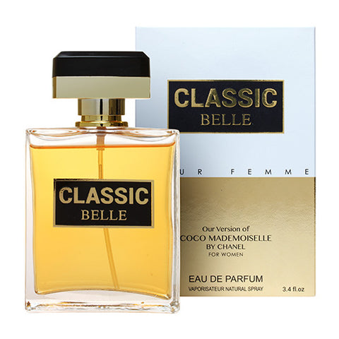 Classic Belle EDP 100ml Spray (like Coco Mademoiselle by Chanel)