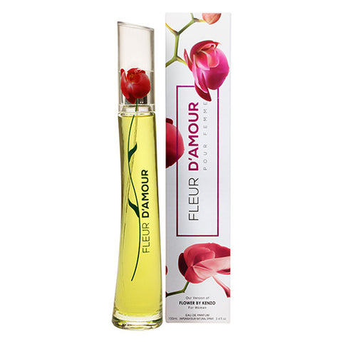 Fleur D'Amour EDP 100ml Spray (like Flower by Kenzo)