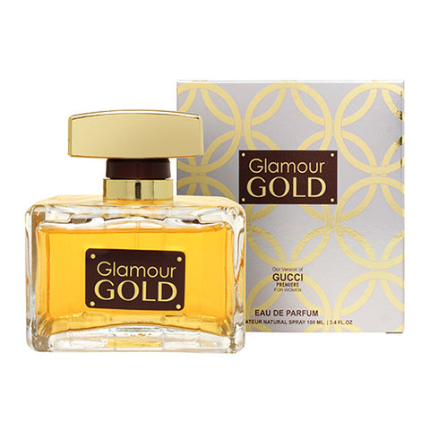 Glamour Gold EDP 100ml Spray (like Gucci Premiere)