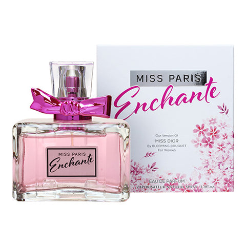 Miss Paris Enchante EDP 100ml Spray (like Miss Dior Blooming Bouquet by Christian Dior)