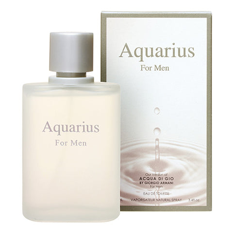 Aquarius for Men EDT 100ml Spray (like Acqua Di Gio Pour Homme by Giorgio Armani)