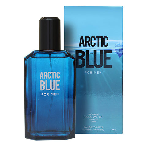 Arctic Blue  EDT 100ml Spray (like Cool Water by Davidoff)