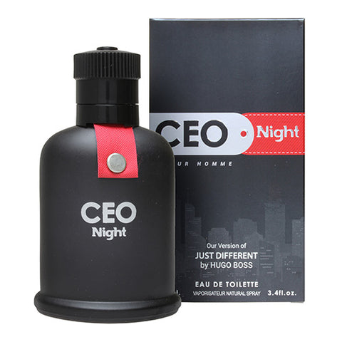 CEO Night EDT 100ml Spray (like Just Different by Hugo Boss)