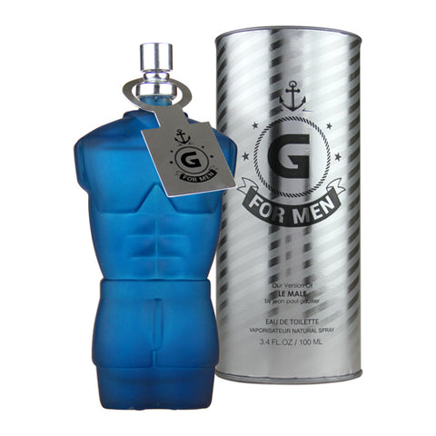 G for Men EDT 100ml Spray (like Le Male by Jean Paul Gaultier)