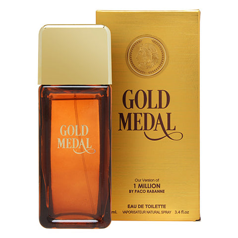 Gold Medal EDT 100ml Spray (like 1 Million by Paco Rabanne)