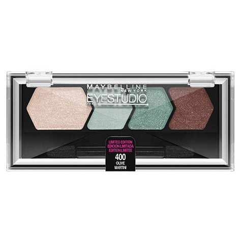 Maybelline Eye Studio Color Plush Quad 400 OLIVE MARTINI