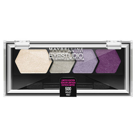 Maybelline Eye Studio Color Plush Quad 500 VIOLET VOLT