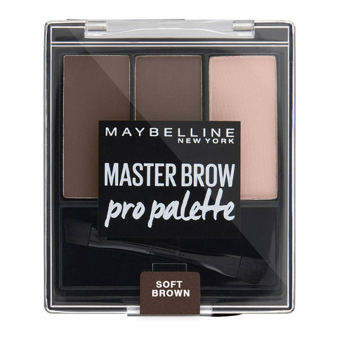 Maybelline Master Brow Pro Palette 80 SOFT BROWN