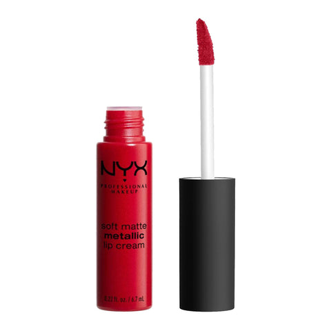 NYX Soft Matte Metallic Lip Cream SMMLC01 MONTE CARLO