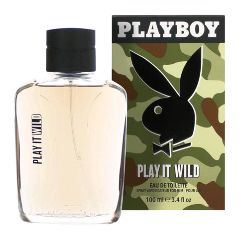 Playboy Play It Wild for Him EDT 100ml Spray
