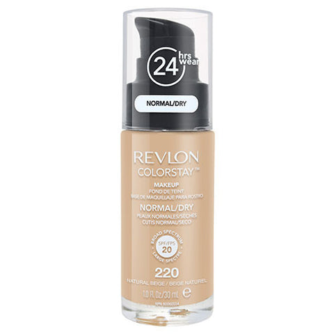 Revlon ColorStay Makeup Normal/ Dry Skin 220 NATURAL BEIGE