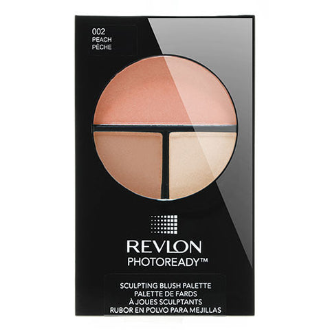 Revlon PhotoReady Sculpting Blush Palette 002 PEACH