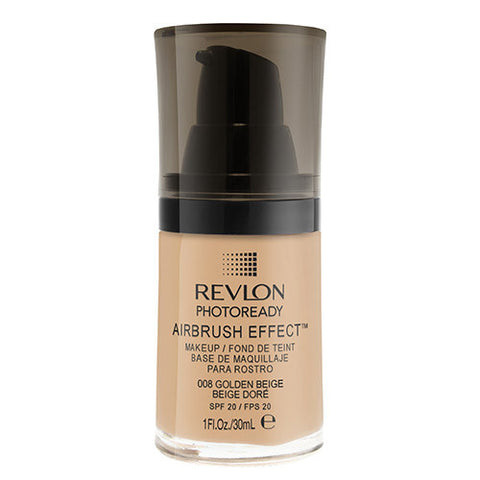Revlon PhotoReady Airbrush Effect Makeup 008 GOLDEN BEIGE