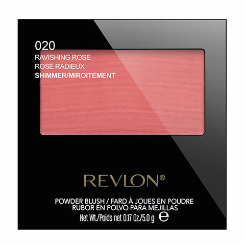 Revlon Powder Blush Shimmer 020 RAVISHING ROSE