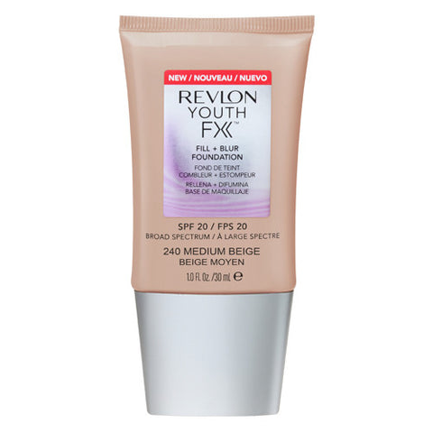 Revlon Youth FX Fill + Blur spf20 Foundation 240 MEDIUM BEIGE