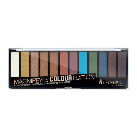Rimmel London Magnif'Eyes Eyeshadow Palette 004 COLOUR EDITION