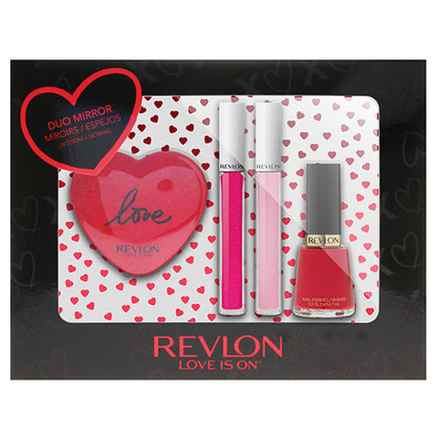 Revlon Lips & Tips 4pc Set