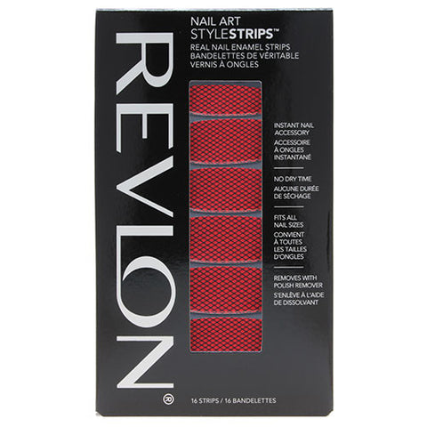 Revlon Nail Art Style Strips FLAMING FISHNETS