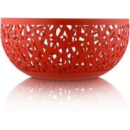 ALESSI Cactus Fruit Bowl in red