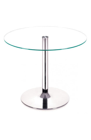 Galaxy Round Glass Table 39""