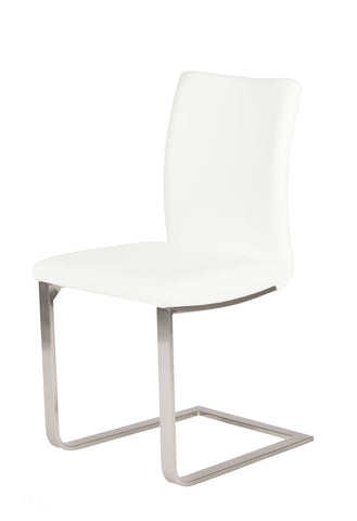 Alex Dining Chair in white - in stock -
