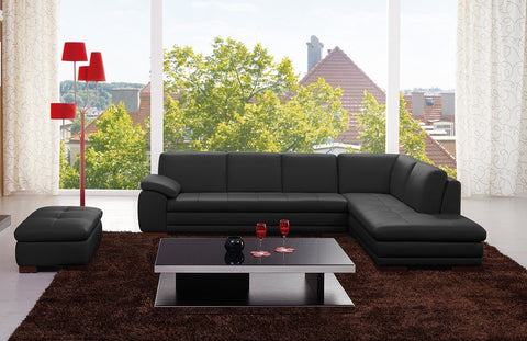 625 Premium Italian Leather Sectional