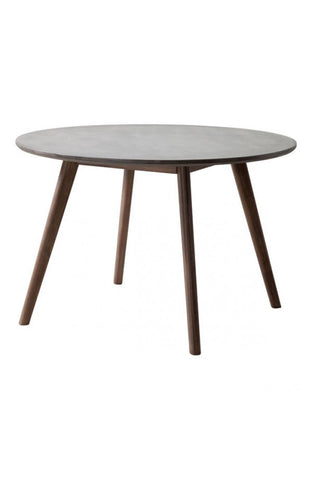 "Elite Round Table 45.3"" cement table top"