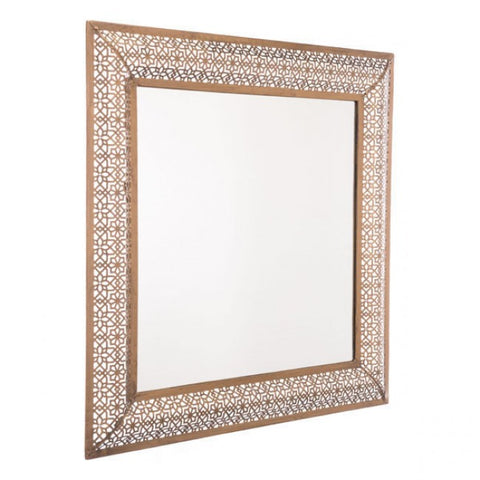 Moroccan Mirror in Gold