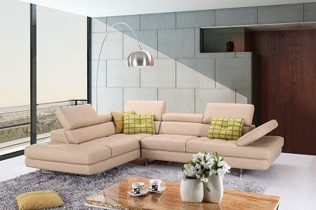 A761 Premium Leather Sectional