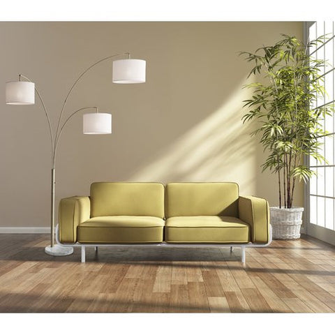 Arched Floor Lamp - 3 Light - incl. bulbs