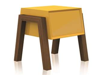 FIGO Nightstand - yellow in stock - others 2 weeks delivery
