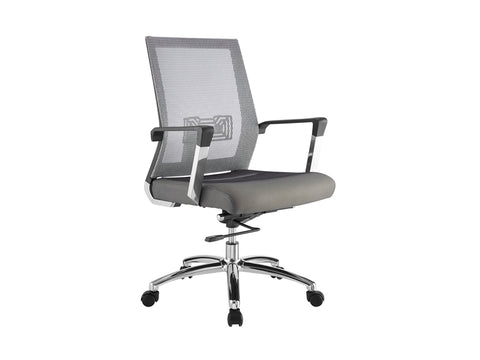 Jet Gray Office Chair