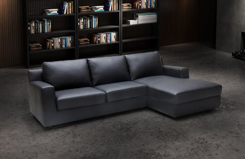Elizabeth Leather Sectional Sleeper