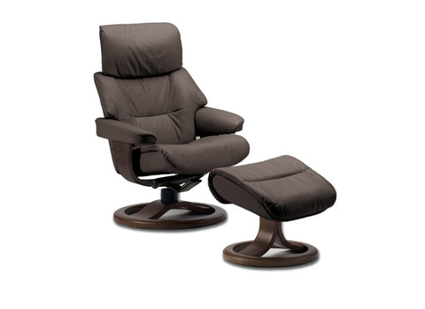 Grip Recliner and Ottoman