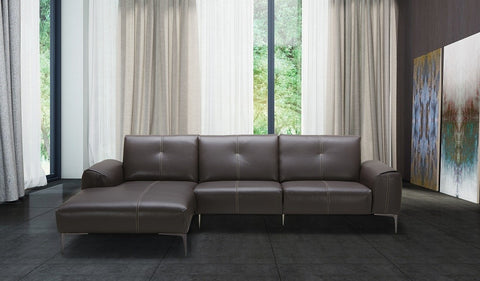 Metro Premium Leather Sectional