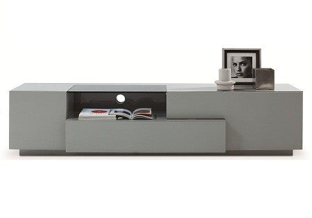 TV/Media Entertainment Center, grey lacquer, 70x18x16H