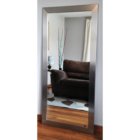 Stainless Full Length Mirror. (Wide Tall Mirror)