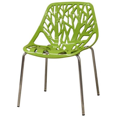 Lime Green Outdoor Cut Out Chair