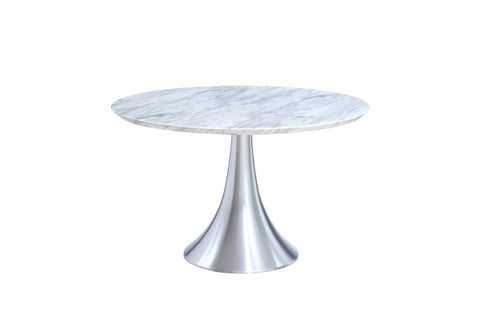 Flow Marble Round Dining Table