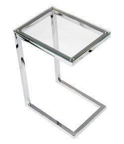Glass End Table Safari Cee By Kube Luxspaceliving