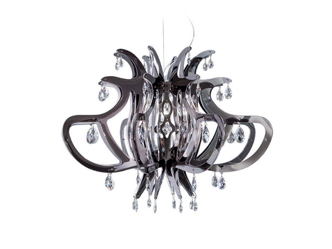 Medusa Pewter Suspension Lamp