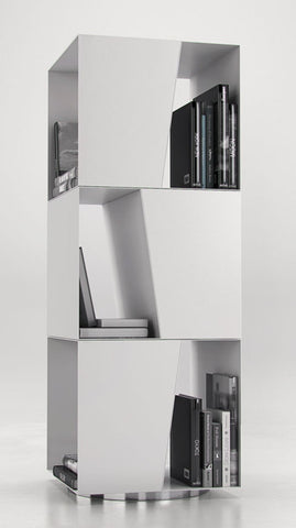 Bondy Bookcase in White