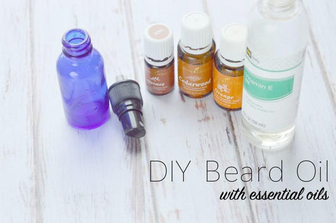 DIY Beard Oil with Essential Oils