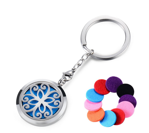 aromatherapy keychain for essential oils