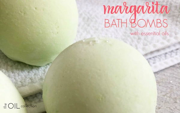 margarita bath bomb with essential oils