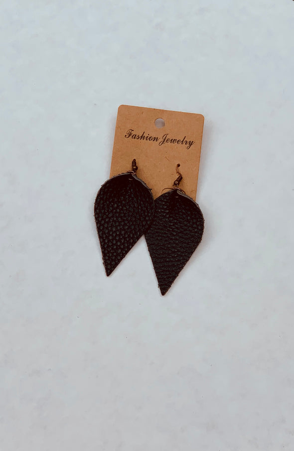 Leather Aromatherapy Diffuser Earrings